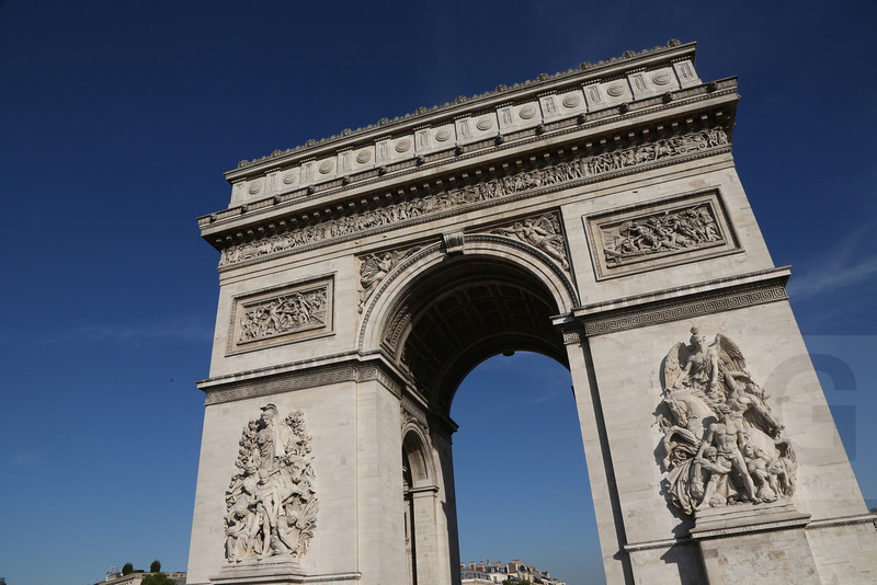 Arc de Triomphe<br /> Paris, France - 09.01.13<br /> Credit: Jonathan Grassi