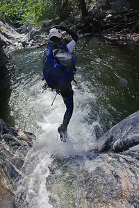 10_04_10 canyoneering Eaton Canyon 0894