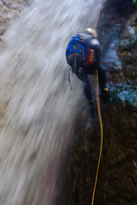 10_04_10 canyoneering Eaton Canyon 0972