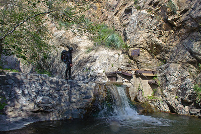 10_04_10 canyoneering Eaton Canyon 0919