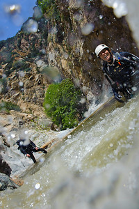 10_04_10 canyoneering Eaton Canyon 0306