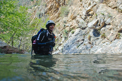 10_04_10 canyoneering Eaton Canyon 0871
