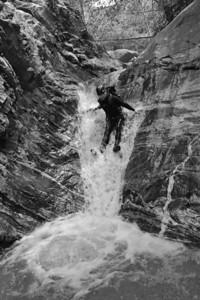 10_04_10 canyoneering Eaton Canyon 0104