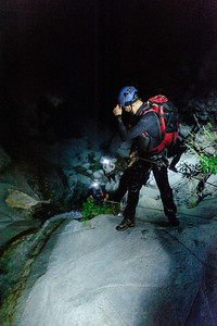 12_03_28 Canyoneering LSA at night 0133