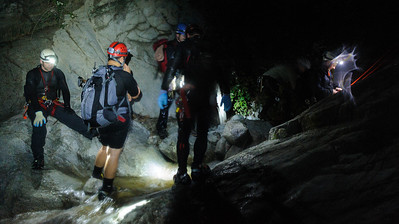 12_03_28 Canyoneering LSA at night 0184