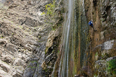 10_04_17 canyoneering Rose Valley Falls 0719