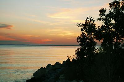 Dusk on the Chesapeake Bay