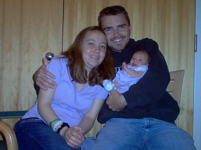 Our very first family photo!   May 2005
