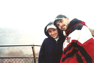 At Grand Canyon, AZ March 2003
