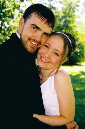 Our wedding August 16th, 2003