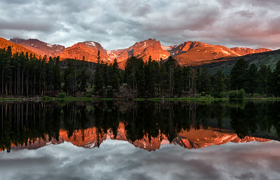 Alpenglow on the Continental Divide