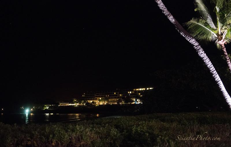 Mauna Kea Beach Hotel from the Reception Venue