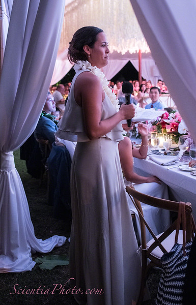 Kelsey's Sister Toasts the New Couple