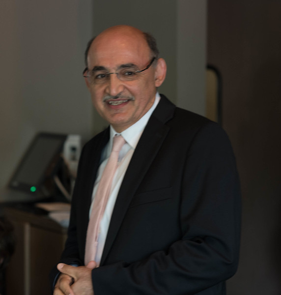 Reza, The Father of the Groom ,Giving  Remarks to the Luncheon