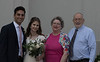 Bride & Groom with Great Aunt Nancy & Great Uncle Bob