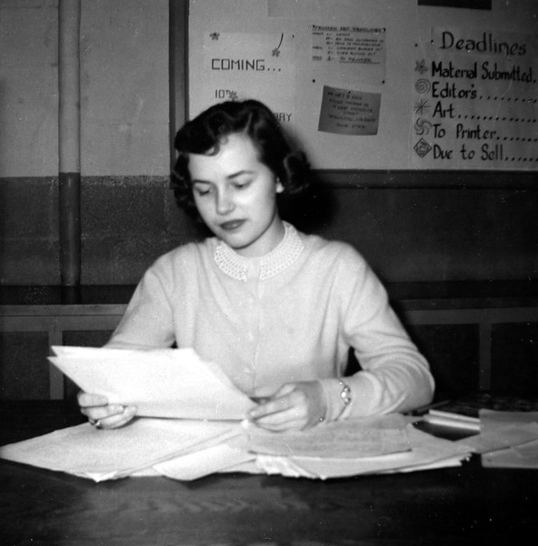 Lani Was Editor-in-Chief of the Penman Literary Magazine at W-L (1958-59)