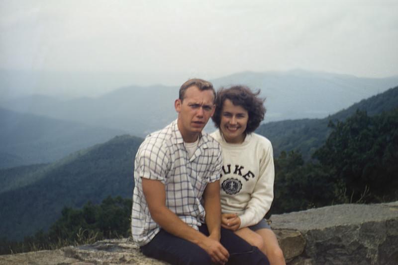 Emmett & Lani at Shenandoah National Park (1958)