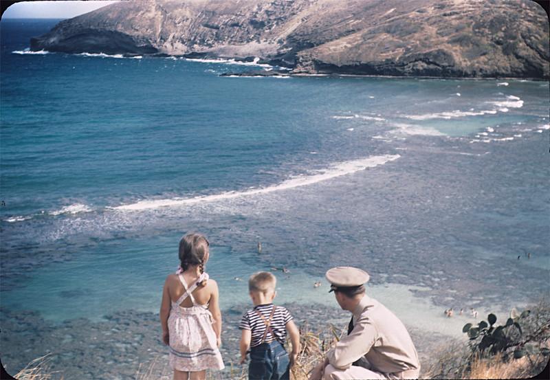 Hanauma Bay with Lani, Bibby & Dad