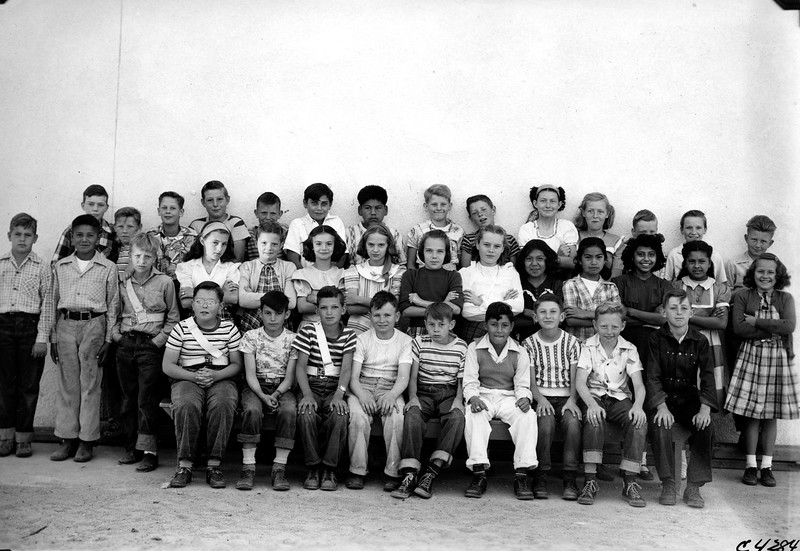 Lani's 5th Grade Class (She is Far Right in the 2nd Row) (Susanville)