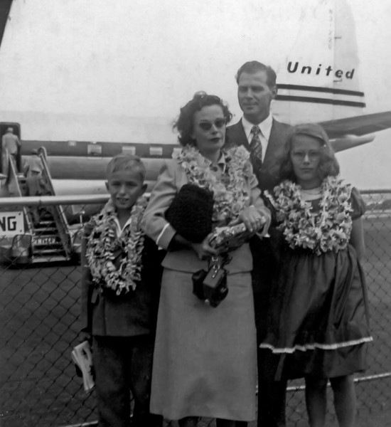 3 of Us Return to Arlington (March, 1951)