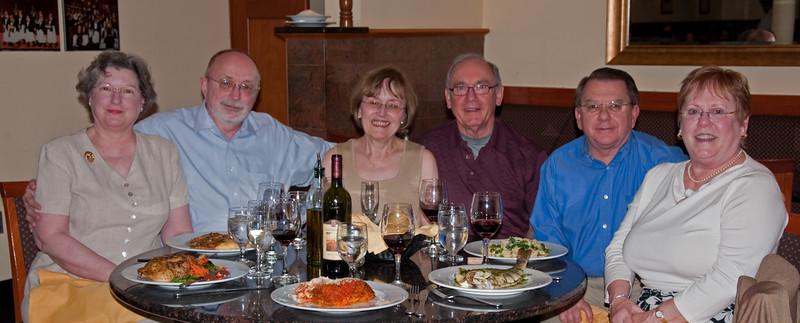 Lani's Birthday    Nancy, Bob, Lani, Emmett, John, MaryJo (2009)