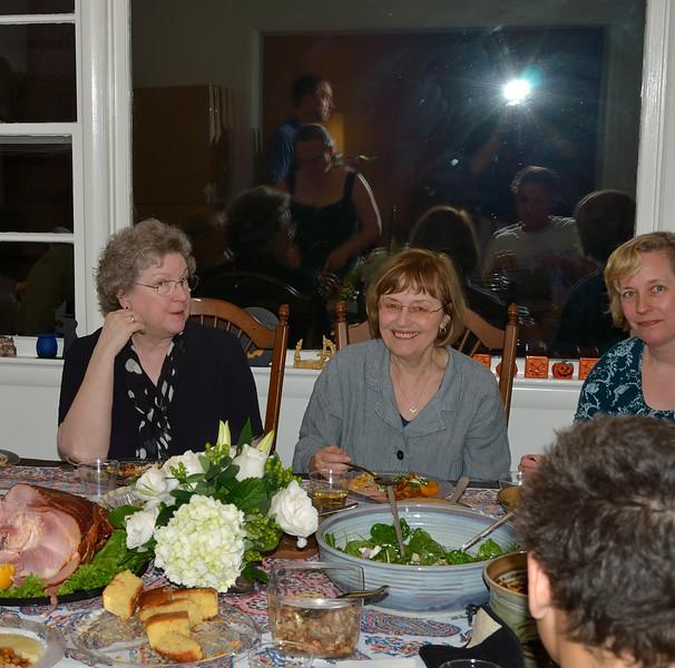 Nancy, Lani & Wendy at Family Reunion at Karen's