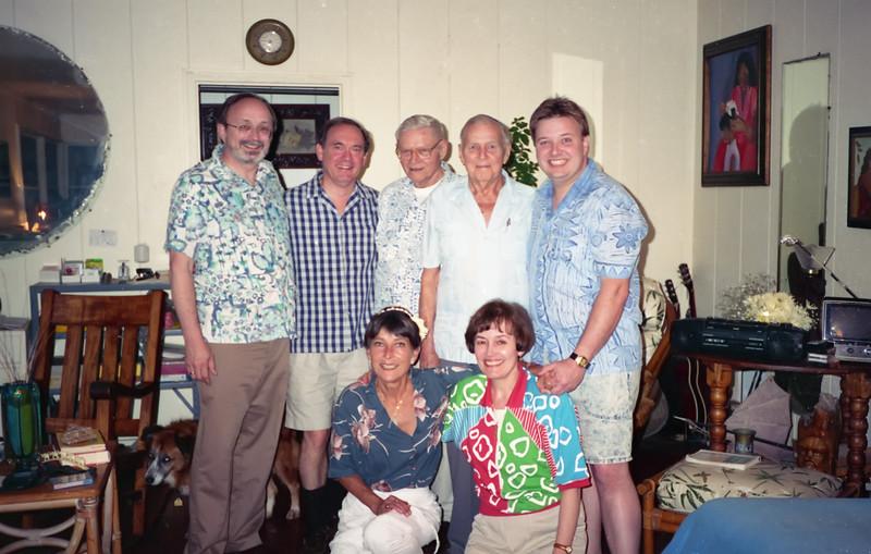Bob, Emmett, Dick, Bill, Barry, Linda and Lani
