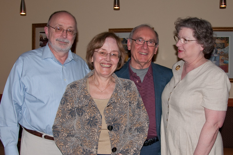 Bob, Lani, Emmett, Nancy on Lani's Birthday (2009)