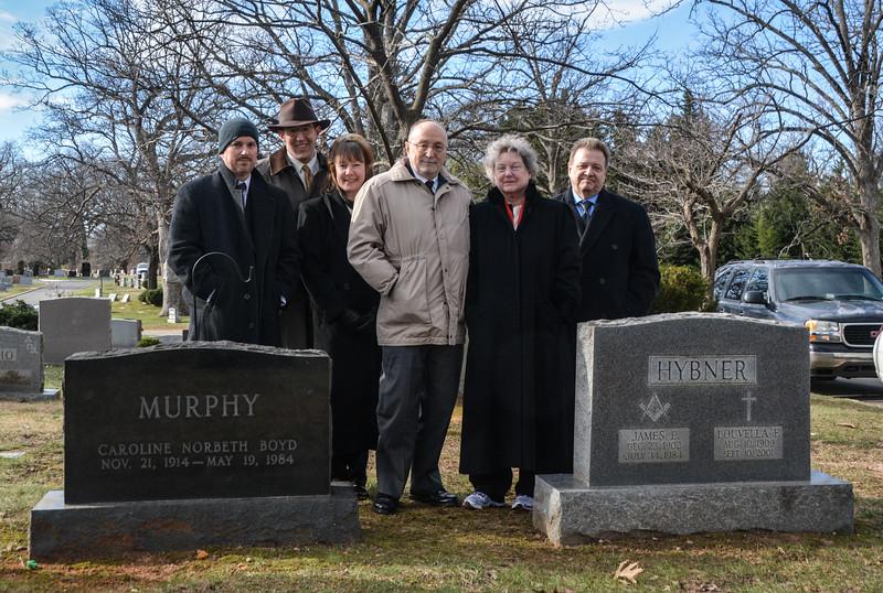 The Murphy - Hybner Family Plots