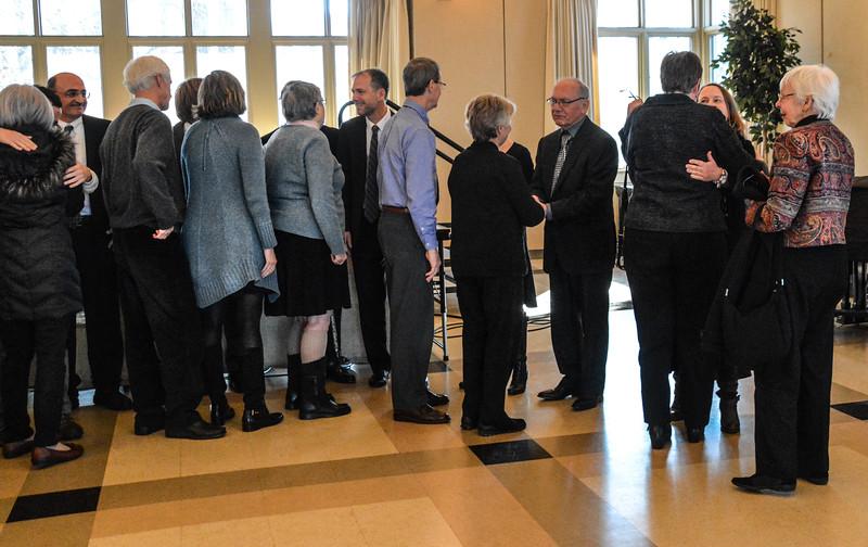 Receiving Line at St Mark's Presbyterian Church