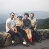 Emmett, Mother, Judy Wearne & Bob on Blue Ridge Mt camping trip in the summer of 1958.