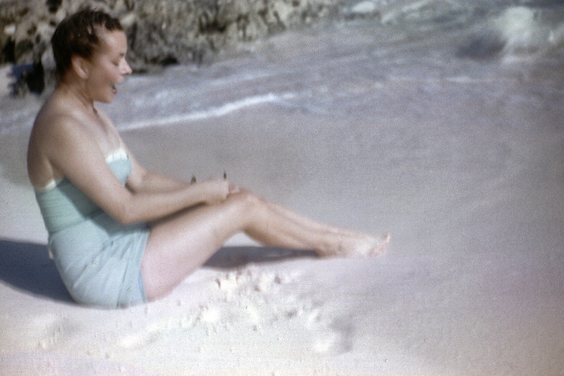 Mother in the Bahama's. 1961.