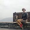 Judy Wearne, my first girl friend, in the summer of 1958.