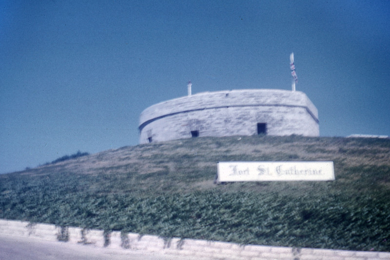 Ft St Catherine. The Bahama's. 1961.