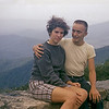 Judy Wearne & Bob on Blue Ridge Mt camping trip in the summer of 1958.