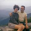 Judy Wearne & Bob on Blue Ridge Mt camping trip in the summer of 1958.