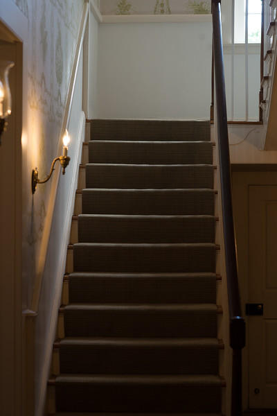 Stairs in the Mary Todd Lincoln Home I
