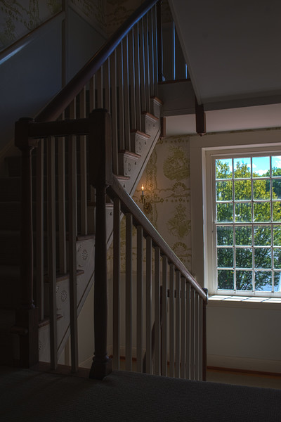 Stairs in the Mary Todd Lincoln Home III