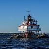 The Thomas Point Shoals Lighthouse