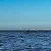 The Chesapeake Bay Bridges Against a Near Perfect Sky