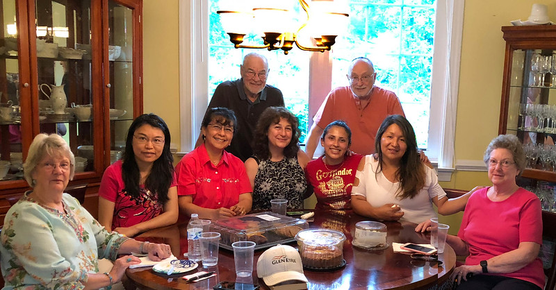Joyce, Yingxia, Sofia, John, Adi, Yeidy,  Dr Bob, Erika & Nancy