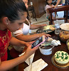 A custom cake from Erika. It must be photographed.