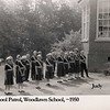Safety Patrols at Woodlawn Elementary. Taken about 1952.