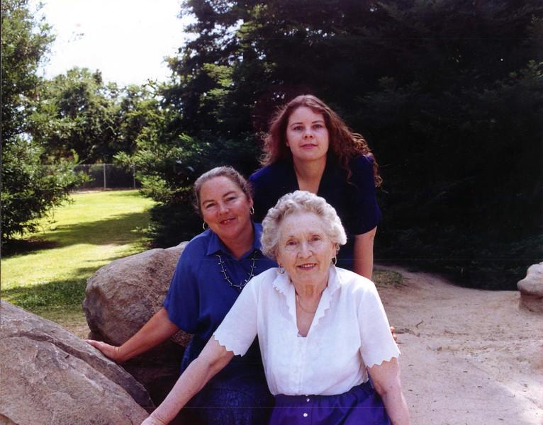 Her Mom, Ann & Ann's Daughter, Melody