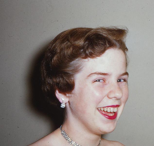 Judy in 1955