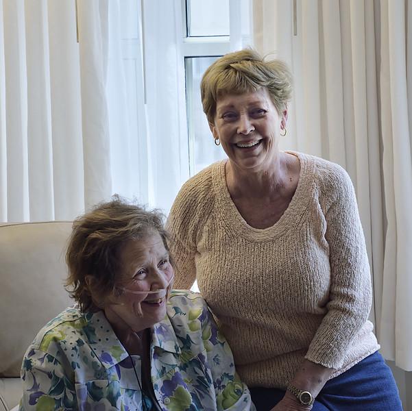 Judy & Connie Adams Long