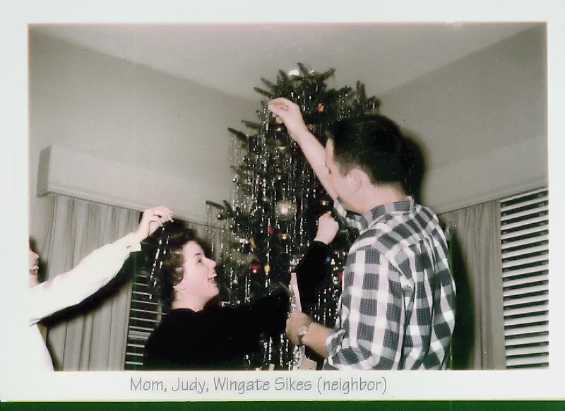 Judy and Wingate Sikes at Christmas