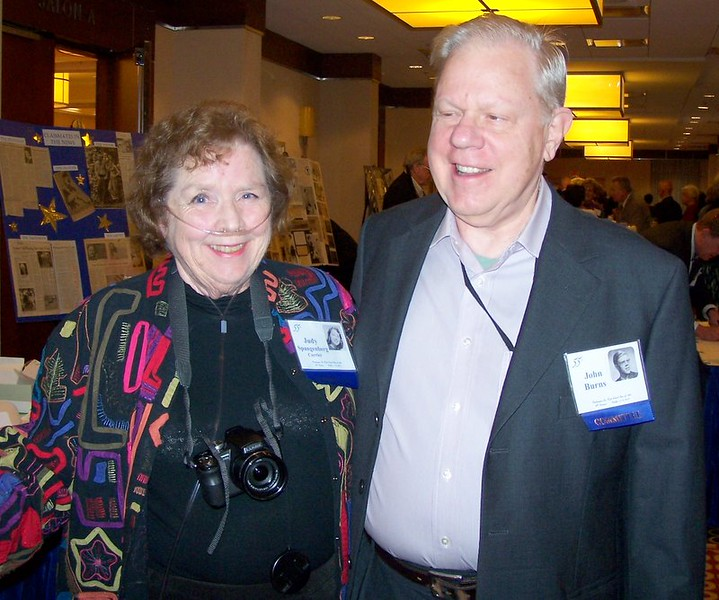 Judy & John Burns  - Co-Producers of the Class Web Page