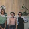 Sara Krebs, Judy and ? Assumed to be Junior High Years.