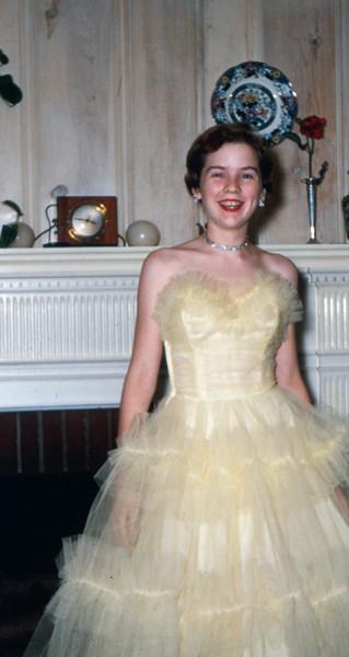 Judy in 1955.